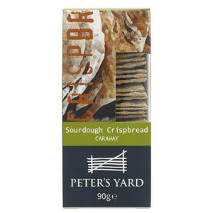 Peter's Yard | Sourdough Crispbread - Caraway | 1 X 90g. This Product Is :-