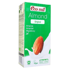 Ecomil | Almond Drink | 1 X 1l. This Product Is :- Vegan,organic