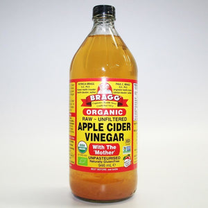 Bragg | Apple Cider Vinegar W/mother | 1 X 946ml. This Product Is :- Vegan,organic