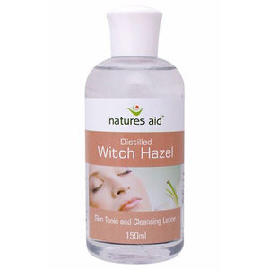 Natures Aid | Witch Hazel | 1 x 150ml | Natures Aid