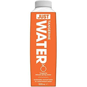 Just Water | Still Spring Water Infused With Tangerine | 1 x 500ml | Just Water