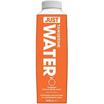 Just Water | Still Spring Water Infused With Tangerine | 1 x 500ml