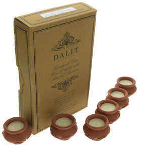 Dalit Goods | Megha Rose Design Tealights | 1 X 6. Sold By Superfood Market