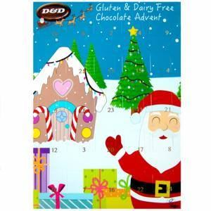 D & D Chocolates | Dairy Free Advent Calendar | 1 X 100g. Sold By Superfood Market