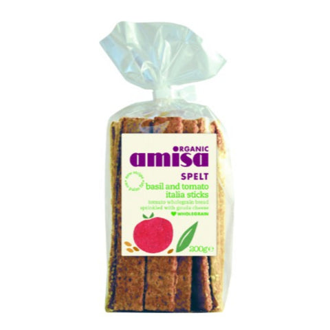 Amisa | Hildegard Spelt Italia Sticks | 1 X 200g. This Product Is :- Organic