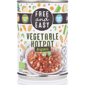 Free & Easy | Vegetable Hotpot - Og | 1 x 400g