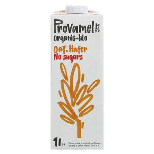 Provamel | Oat Drink - Unsweetened | 1 X 1l. This Product Is :- Vegan,organic