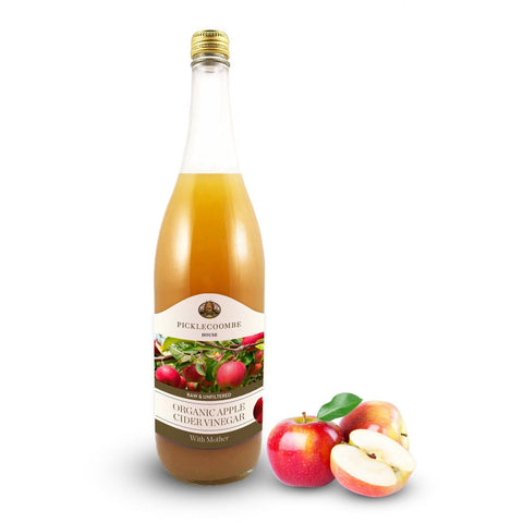 Picklecoombe House | Organic Apple Cider Vinegar & Ginger Infusion | 1 X 500ml. Sold By Superfood Market