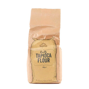 Suma Prepacks | Tapioca Starch (flour) | 1 X 500g. This Product Is :- Vegan