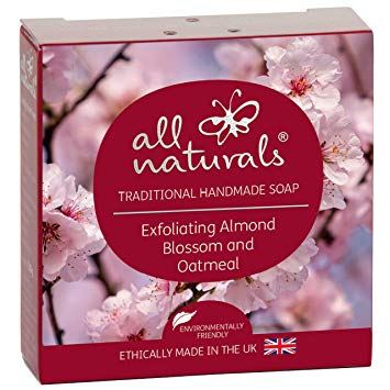 All Natural | Almond Blossom Organic Soap Bars | 1 X 100g. Sold By Superfood Market