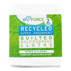 Ecoforce | Recycled Super Absorbent Cloth | 1 x 2 | Ecoforce