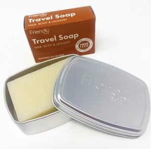 Friendly Soap | Travel Tin | 1 x 1tin | Friendly Soap