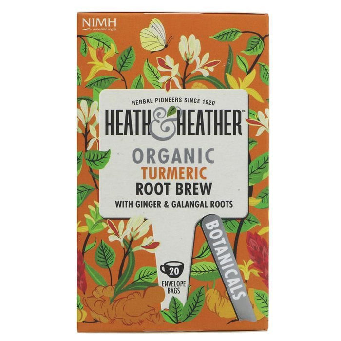 Heath And Heather | Turmeric Root Brew | 1 x 20 Bags