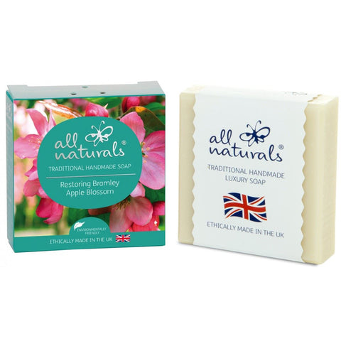 All Natural | Bramley Apple Natural Organic Soap Bars | 1 X 100g. Sold By Superfood Market