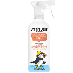 Attitude | Little Ones - Fragrance Free Laundry Stain Remover | 6 x 475ml | Attitude