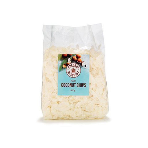 Coconut Merchant | Plain Coconut Chips | 1 x 500g