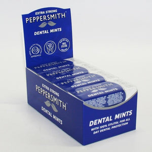 Peppersmith | Extra Strong Mints | 1 X 15g. This Product Is :- Vegan