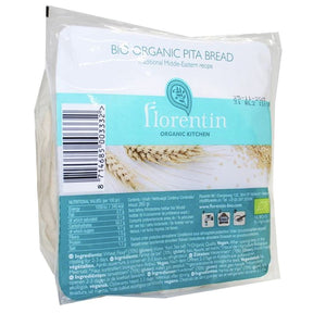 Florentin | Pitta Bread - White | 1 X 260g. This Product Is :- Vegan,organic