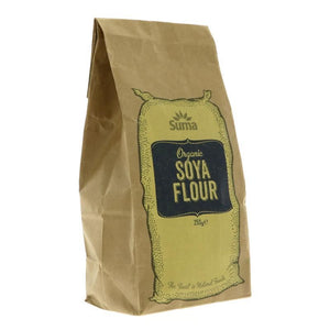 Suma Prepacks - Organic | Soya Flour - Organic | 1 X 250g. This Product Is :- Vegan,organic