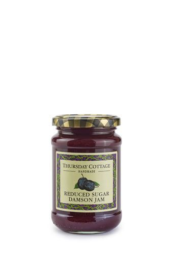 Thursday Cottage | Reduced Sugar Damson Jam | 1 x 315g
