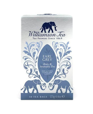 Williamson Tea | Earl Grey | 1 X 50 Bags. This Product Is :- Vegan,fairtrade