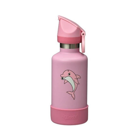 Cheeki | 400ml Insulated Kids Bottle Dolphin | 1 X 400ml. Sold By Superfood Market