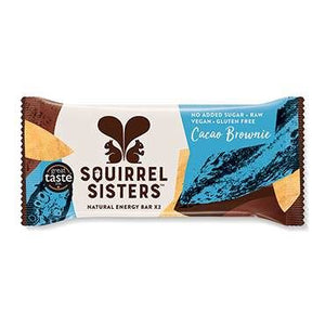 Squirrel Sisters | Cacao Brownie | 1 X 2x20g. Sold By Superfood Market