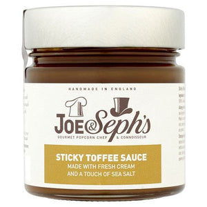 Joe&sephs | Sticky Toffee Sauce | 1 x 230g | Joe&Sephs