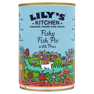 Lilys Kitchen | Fishy Fish Pie With Peas (wet Dog Food) | 1 x 400g | Lilys Kitchen