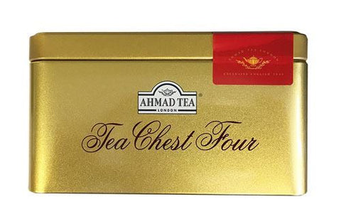 Ahmad | Tea Chest Four Teas Collection - Foiled | 1 x 40 Bags
