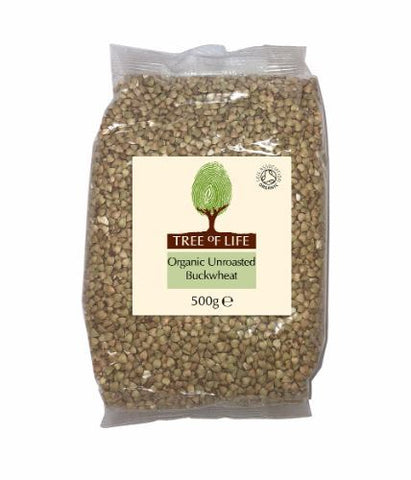 Tree Of Life | Organic Buckwheat - Unroasted | 1 x 500g