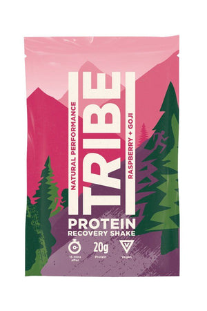 Tribe | Vegan Protein Shake Raspberry & Goji | 1 X 36g. Sold By Superfood Market