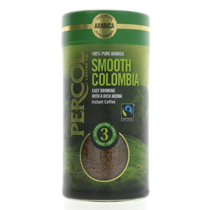 Percol | Colombian Fairtrade | 1 X 100g. This Product Is :- Vegan,fairtrade