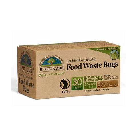 If You Care | Kitchen Caddy Bags - (food Waste Bags) | 1 x 30 Bags