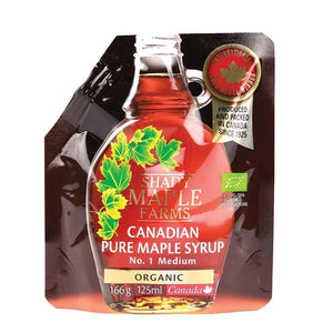 Shady Maple Farms | Maple Syrup - Organic (pouch) | 1 X 125ml. This Product Is :- Vegan,organic