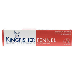 Kingfisher | Fennel Toothpaste | 1 x 100ml | Kingfisher