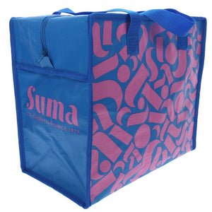 Suma Branded Bags | Lg-woven Pp Insulated Cool Bag | 1 X Bag. This Product Is :- Vegan