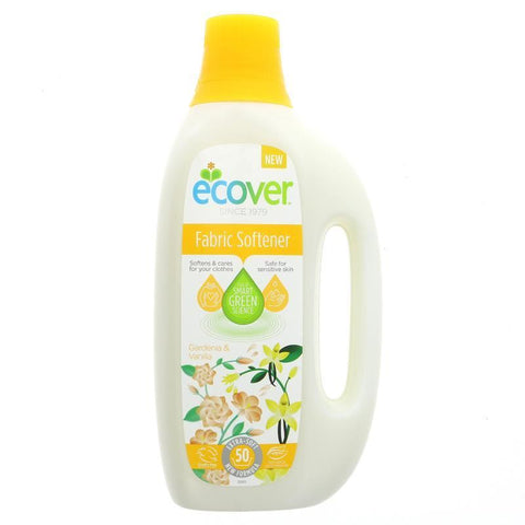 Ecover | Fabric Con Soft Gardenia | 1 X 1.5l. This Product Is :- Vegan