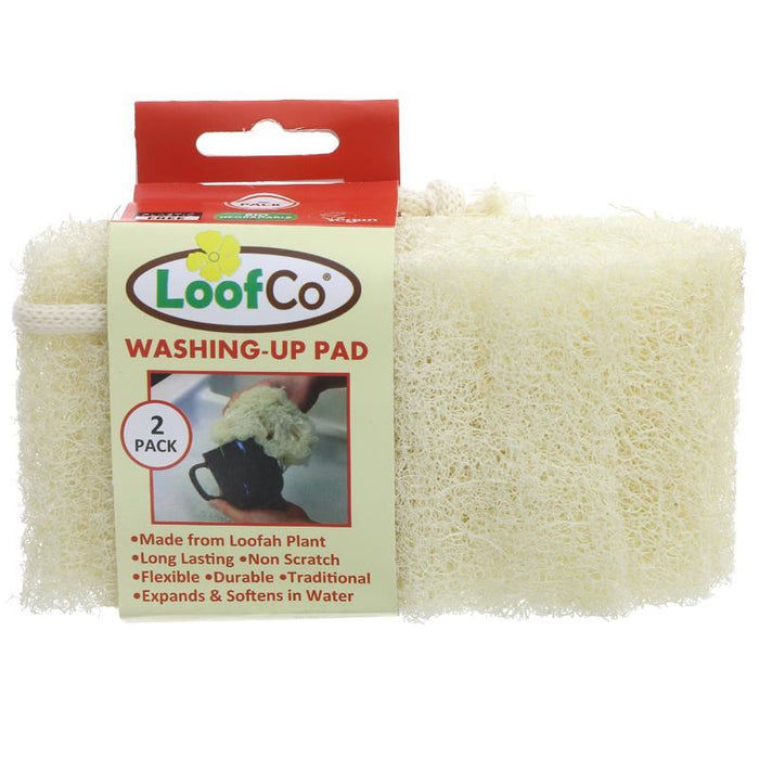 Loofco | Washing-up Pad - 2 Pack | 1 x 2 Pack