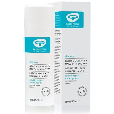 Green People | 2 In 1 Alcohol Free Cleanser & Make-up Remover | 1 x 150ml