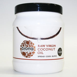 Biona | Virgin Coconut Oil Raw | 1 x 1.2kg | Biona