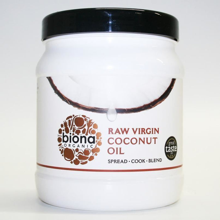 Biona | Virgin Coconut Oil Raw | 1 x 1.2kg
