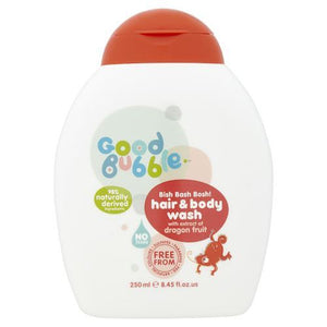 Good Bubble | Dragon Fruit Extract Hair & Body Wash | 1 x 250ml | Good Bubble