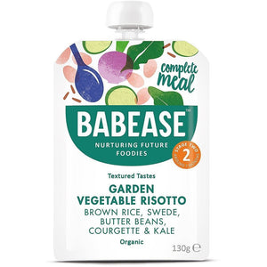 Babease | Swede Beetroot Beans Courgette & Kale 7m+ | 1 x 130g | Babease