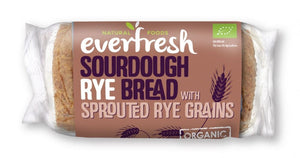 Everfresh Natural Foods | Rye Sourdough Bread | 1 x 400g | Everfresh Natural Foods