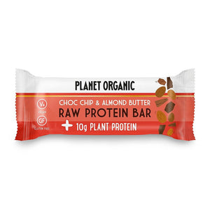 Planet Organic | Organic Raw Protein Bar Almond | 1 X 50g. Sold By Superfood Market