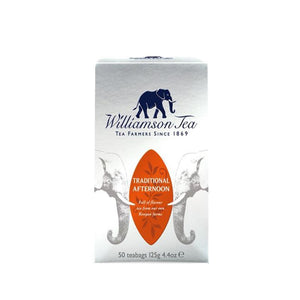 Williamson Tea | Traditional Afternoon | 1 X 50 Bags. This Product Is :- Vegan,fairtrade