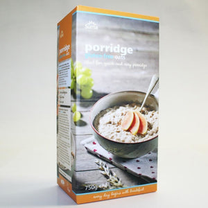 Suma Prepacks | Oats - Porridge & Gluten Free | 1 X 750g. This Product Is :- Gluten Free,vegan