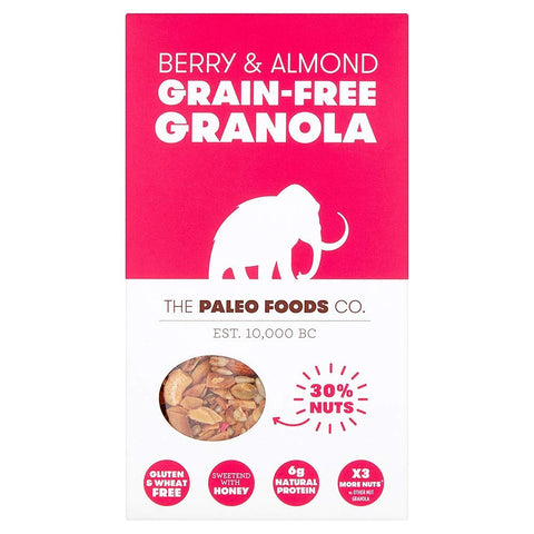 The Paleo Foods Co. | Granola Berry & Almond | 1 X 285g. Sold By Superfood Market
