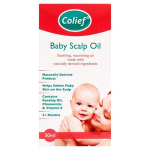 Colief | Infant Scalp Oil | 1 x 30ml | Colief